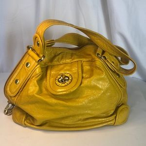 Marc by Marc Jacobs Yellow Patent Leather Satchel